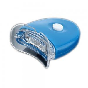 Albirea dintilor cu  tratament cu lumina si gel de albire