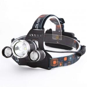 Lanterna frontala cu 3 LED-uri