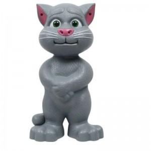 Jucarie interactiva - pisica vorbeste, toarce si rade cu tine, 28 cm