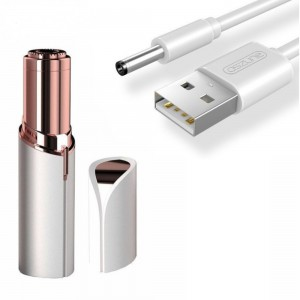 Epilator facial hipoalergenic, cu incarcare USB