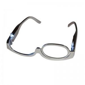 Ochelari cu lupa si LED pentru machiaj